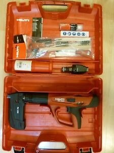 Hilti Dx 460 Complete Kit Mx 72 Extra F8 Powder Actuated Nail Gun
