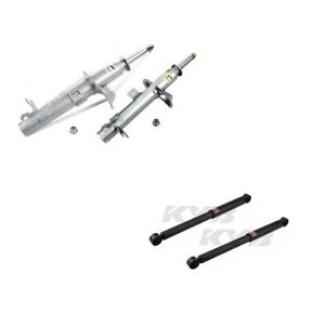 Ford Focus S Wagon 00 To 05 Struts Shocks Assemblies Kit Kyb 4 Gr2 New