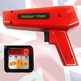 Sp8000 Accusparkprofessional Timing Light With Digital Advance And Rev Counter
