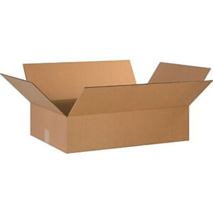 20 24 X 16 X 6 Corrugated Shipping Boxes Storage Cartons Moving Packing Box