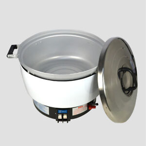 New Natural Gas Commercial Rice Cooker 50 Cups 10l Capacity 2 8kpa New Item