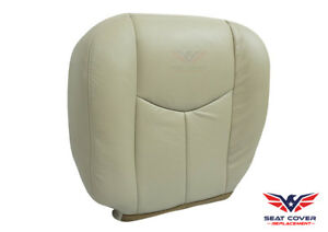 2003 2004 2005 2006 Chevy Tahoe Suburban Bottom Synthetic Leather Seat Cover Tan