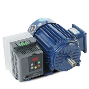 Low Rpm Motor Variable Speed Ac Motor Vfd Inverter Ac220v 1 1kw 500 1400rpm