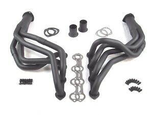 Sbf Ford 1979 1993 Mustang Long Tube Header Black We3022