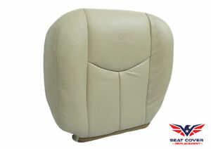 2003 To 2006 Chevy Tahoe Suburban Bottom Leather Seat Cover Replacement Tan 522
