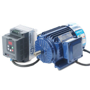 Variable Speed Ac Motor Low Rpm Motor 500 1400rpm Ac220v 3 0kw Vfd Inverter