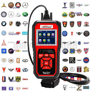 Konnwei Kw850 Obdii Eobd Automotive Car Erase Fault Codes Diagnostic Scanner