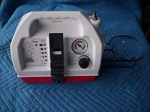 Working Gomco Gi80 Portable Aspirator Vacuum Pump O1