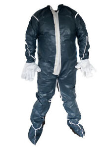 Dupont Tyvek Gray 3x Vented Coverall Disposable Coverall Painter Crawlspace
