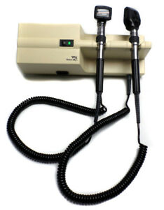 Welch Allyn 767 Integrated Wall System Otoscope Opthalmoscope 25020 11710