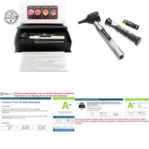 4th Generation Dr Mom Led Pocket Otoscope With Specula Tips And Case New