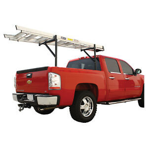 Bully Black Steel Expandable Ladder Rack 18 32 Width Fits Full Mid Size Truck