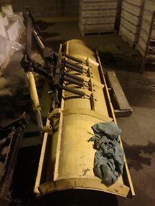 Industrial Snow Plow Yellow Used