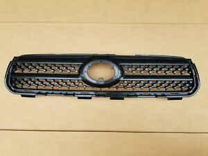 Fits 2006 2008 Toyota Rav4 Upper Grille On Front Bumper New