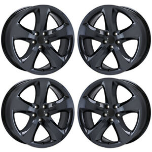20 Dodge Challenger Charger Pvd Chrome Wheels Rims Factory Oem 2411 Exchange