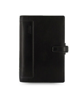 Filofax Personal Size Holborn Organiser Planner Diary Leather Black 025116 Gift