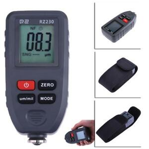 Handheld Digital Coating Thickness Gauge 1300um Paint Film Metal Surface Tester