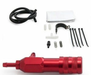 Universal Adjustable Manual Boost Controller Kit For Turbo With Check Valve Red