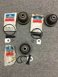 Nos Mopar Power Steering Box Sector Lash Kit And Housing