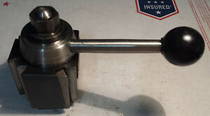 Used Aloris Axa Series Quick change Precision Tool Post Up To 12 Swing