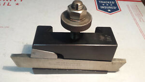 Slighty Used Aloris Da 7 Partoff Tool Grooving Holder With Blade Made In Usa