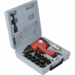 Pcl 1 2 Impact Wrench Gun Car Workshop Equipment 352nm Apl001k With Sockets