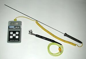K type Temperature Probe sensor And Digital Thermometer