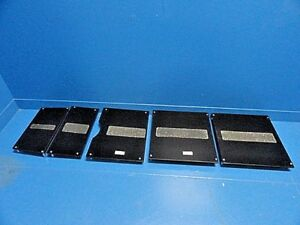 5 X Maquet Alphastar Operating or Table X ray Tops Radiolucent Boards 13921