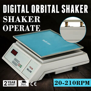 Lab Digital Oscillator Orbital Rotator Shaker Platform Destaining Variable Speed