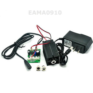 980nm 200mw Ir Infraid Laser Dot Line Cross Module W Ttl Fan Cooling Adapter