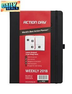 2018 Worlds Best Action Planner Daily Weekly Monthly Yearly Agenda Calendar New