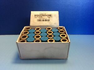 New Box Of 25 Swagelok B 600 1 6 Brass Male Connector 3 8 Tube X 3 8 Male Pipe