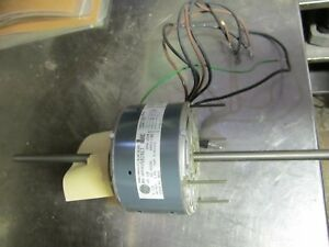 Ge Electric Motor 1 8 Hp Double shaft