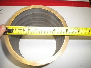 Bronze Tubing Bar Stock 5 0625 x4 375 x4 2155 Live Steam 0 4 0 Hobbies Lathe