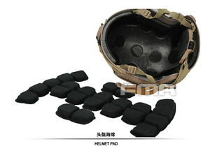 FMA Memory Foam Protective Pad & Suspension Liner For Ballistic Helmet ML LXL