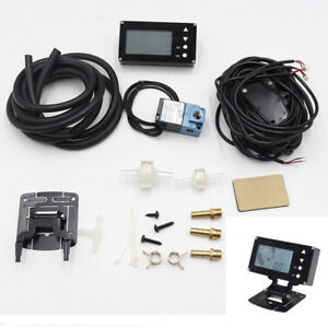Lcd Display Evc Electronic Valve Turbo Boost Controller W Turbo Sensor For Auto
