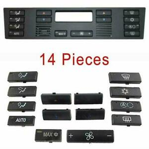 Bmw X5 E53 520 E39 Air Con Heater Climate Ventilation Control Button Switch Set