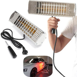 1000w Handheld Spray Baking Infrared Paint Booth Curing Heating Lamp Car Shop