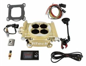 Fitech Fuel Injection 30005 Easy Street Efi Throttle Body System Kit 600 Hp Clas