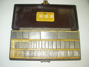 Do all Rectangular Grade A Gage Block Set Set 81 r Fx53