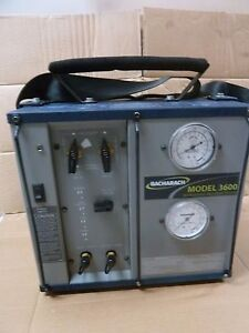 Bacharach Model 3600 Portable Refrigerant Recovery System Commercial Oilless