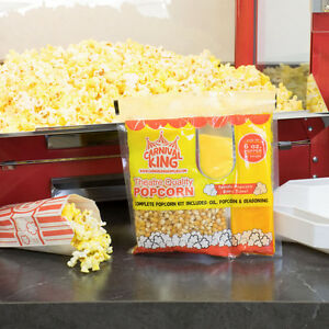 Carnival King All in one Popcorn Kit For Use In Poppers 6 Oz Or Larger