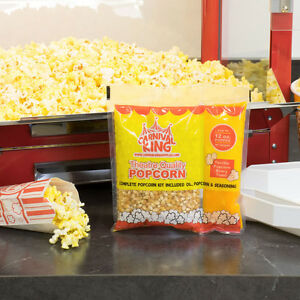 Carnival King All in one Popcorn Kit For Use In Poppers 12 Oz Or Larger