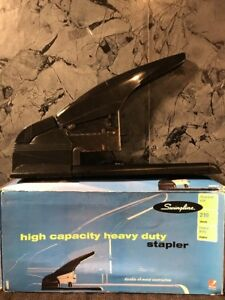 Swingline Heavy Duty High Capacity Stapler Up To 210 Sheets Brand New
