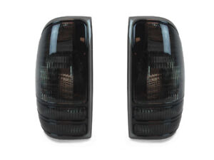 Depo Pair Of All Smoke Rear Tail Lights For 1997 2004 Dodge Dakota