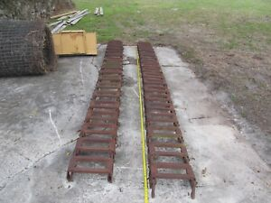 John Deere grouser 10x16 5 Steel Over The Tire Skid Steer Tracks