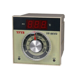 Ac110 220v Digital Temperature Controller Thermostat Relay Output K Thermocouple