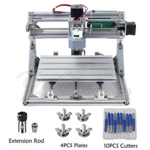 3 Axis Grbl Cnc 3018 Laser Engraving Cutting Pvc Milling Machine Router Engraver