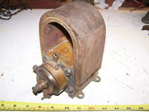 Old Splitdorf Model G Brass Early Car Magneto Horseless Carriage Tractor Gas Wow