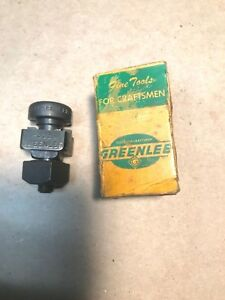 Nos Greenlee 731 5 8 Square Heavy Duty Radio Chassis Square Punch